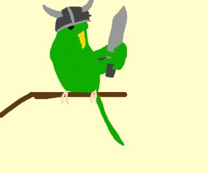 Warrior Parakeet