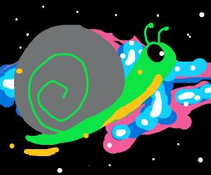 Intergalactic snail