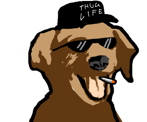 thug lyfe pupper