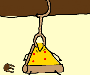 Pizza commits Suicide, Rest in Pepperoni.