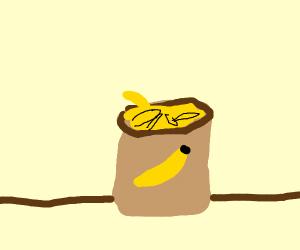 a bag o' bananas