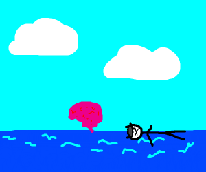 A Brain crossing the Ocean