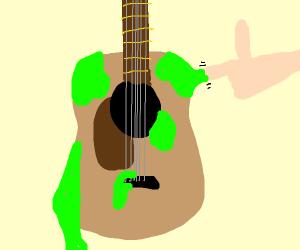 sticky guitar ;-)