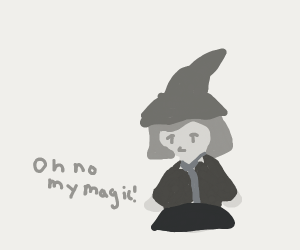 Lost my Magick.