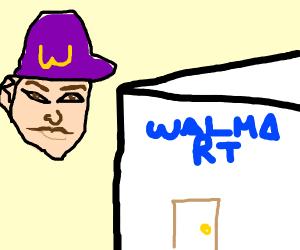 Waluigi in Wahlmart