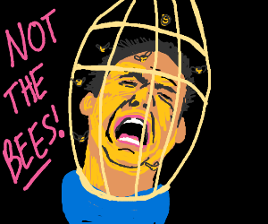 "Nicolas Cage - ""NOT THE BEES!"""