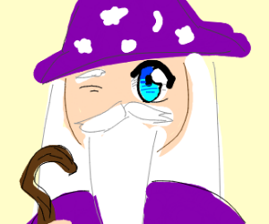 A Wizard With One Anime Eye