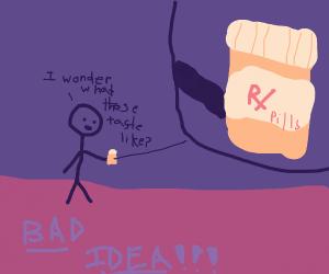 tasting pills
