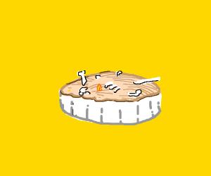 Chicken bone pie