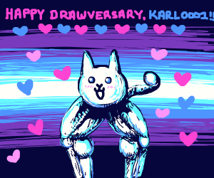 Happy Drawversary To Karl0001