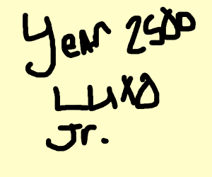 Year 2500 Luxo Jr.