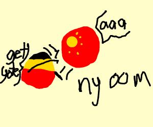 Germanyball blows Chinaball