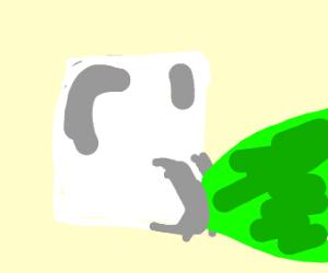 farting marshmello (wtf)