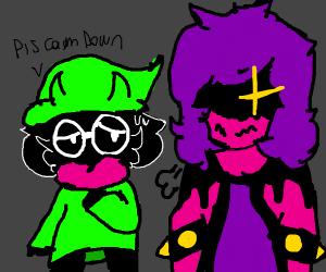 Ralsei and Susie