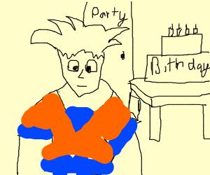 Goku's Birthday Party