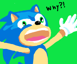 screaming sonic