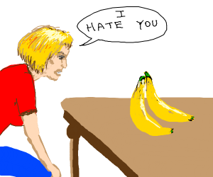 misty doesn't like bananas