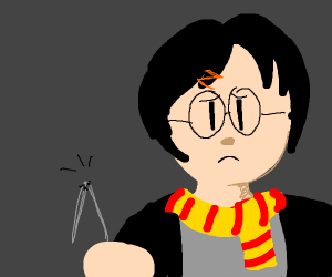 Harry Potter and His Broken Wand