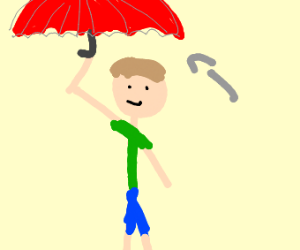 Short umbrella