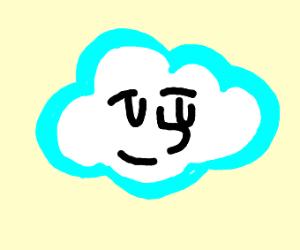 Cloud man