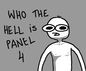 Panel 4 can't believe it