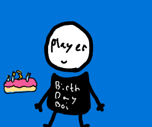 Congratulations on 3 years, player!