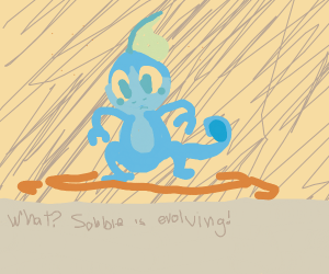 What? Sobble is evolving!