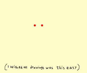 invisible man has laser eyes