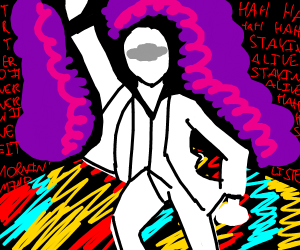 Being possessed by the spirit of disco