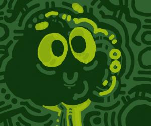 Smiling tree