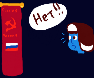 communism causes distress in blue russians