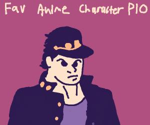 fav anime character P.I.O.