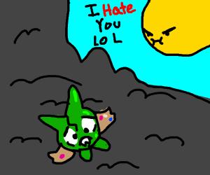 Sun hates deppresed pokemon cuz she trash lol