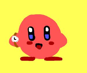 Galactic Nova (Kirby) checks his watch