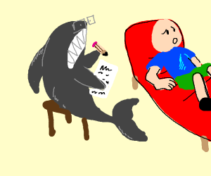 Shark is your psychologist