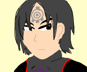 human version of X.A.N.A (from code lyoko)