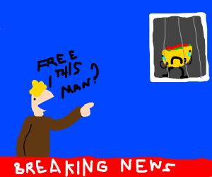 Breaking news: free taco man?