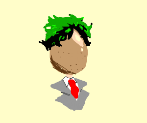 Midoriya's Head is an Egg