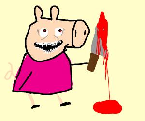 peppa pig is a murderer