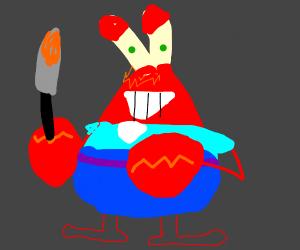 Mr. Krabs becomes a murderer