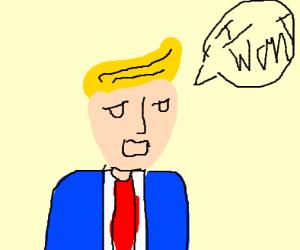 Trump says he wont
