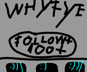 WhyFye has 100+ followers