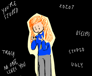 depressed roblox ginger