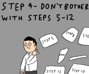 Step 3: Skip steps 1 and 2
