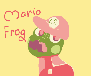 Mario is a frog