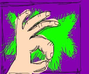 ok hand symbol
