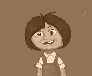 """Adventure's out there!"" (Young Ellie)"