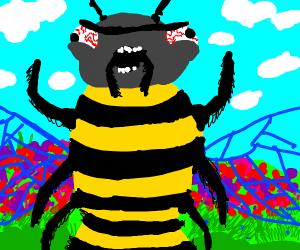 Manic bee