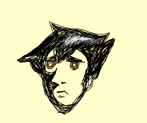 Pointy Black Haired Boy