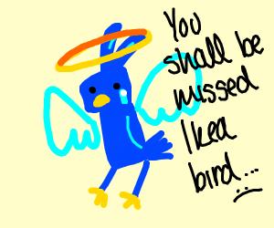 Rip ikea bird